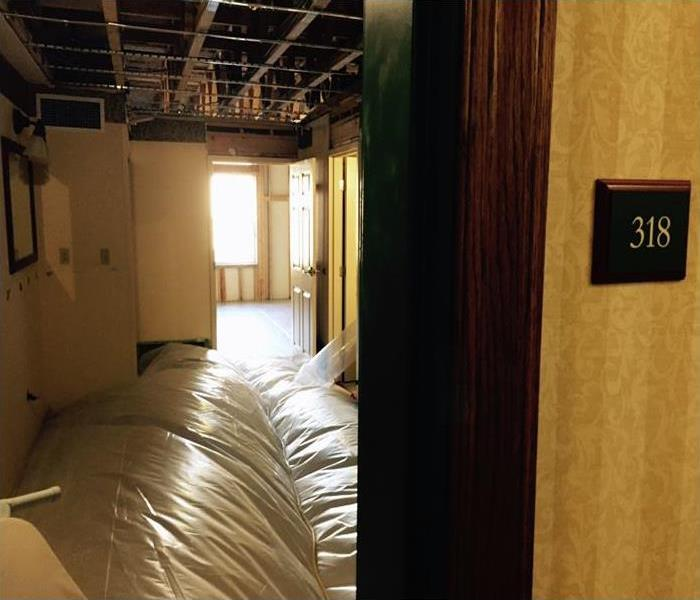 Commercial Water Damage In Bentonville After
