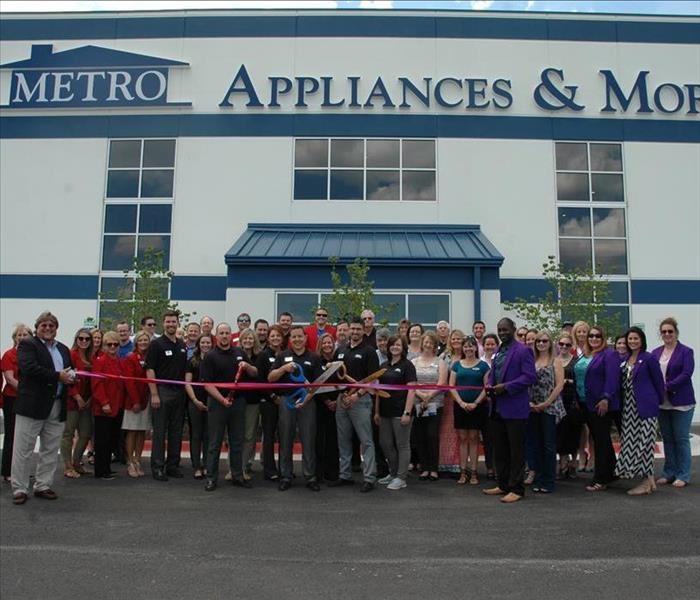 3 Chamber Ribbon Cutting in Lowell