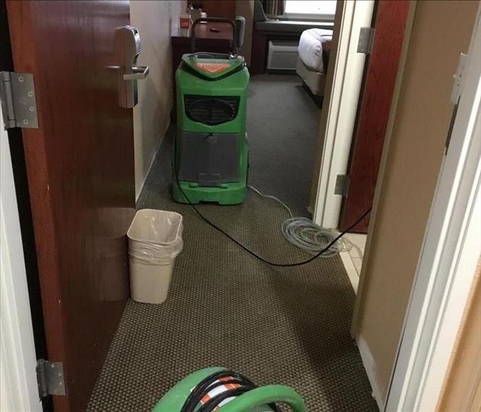 Water Damage For Home Owners in Siloam, SERVPRO Offers Specific Techniques for Water Extraction from Floorings