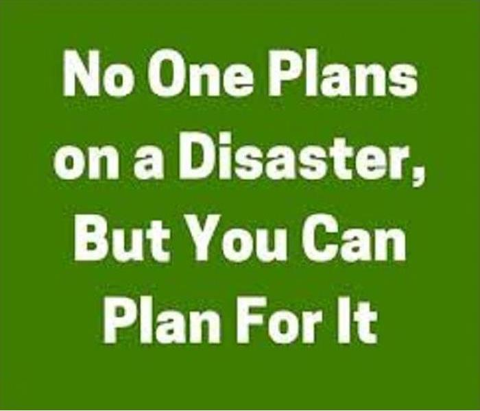 You CAN plan for disasters graphic